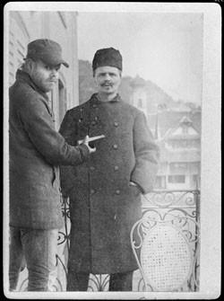 Markus och Strindberg