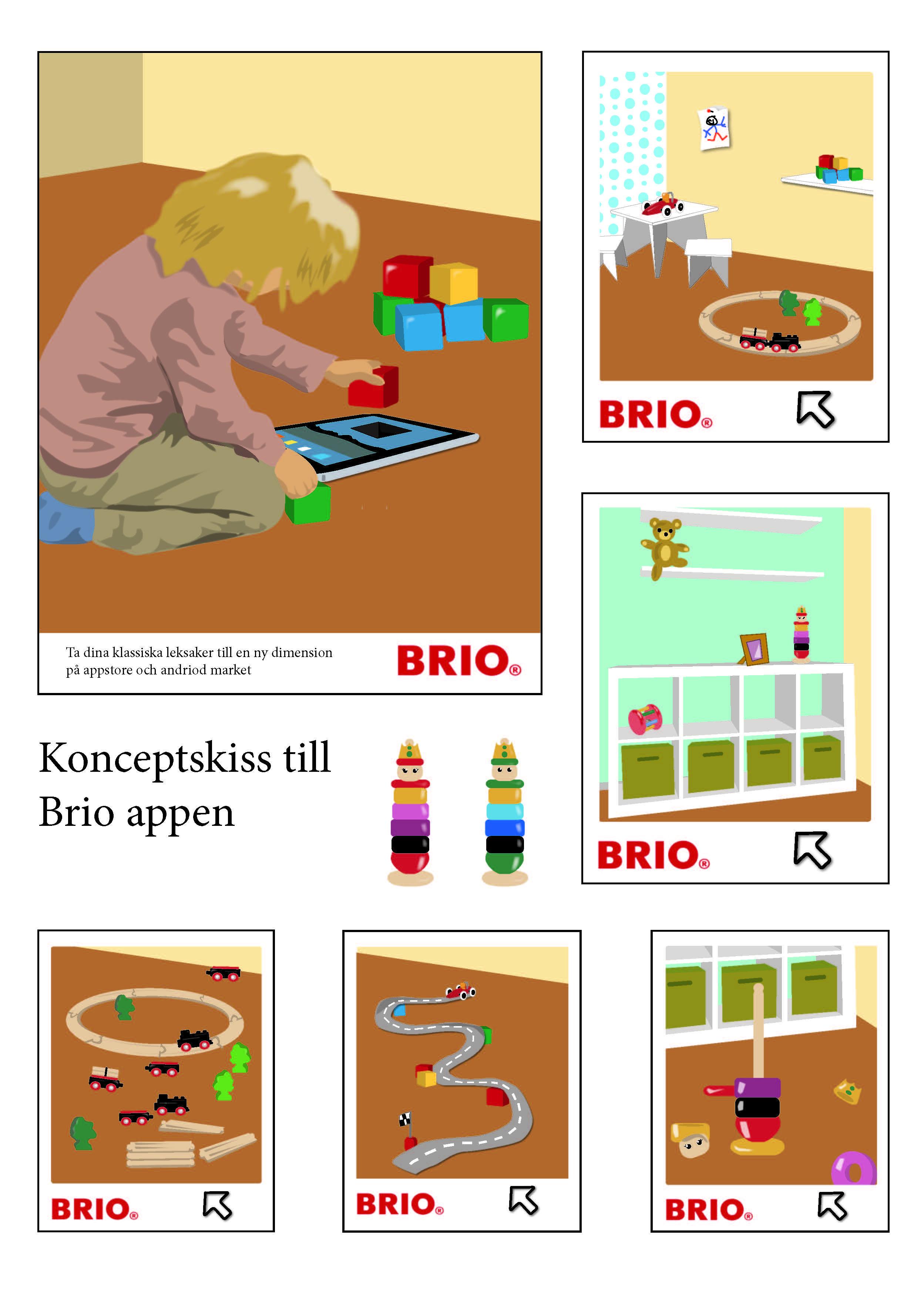 Brio –Appkonceptet