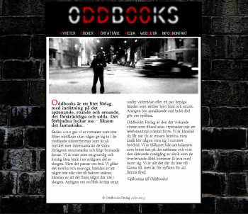 Oddbooks screenshot